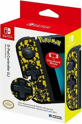 HORI D-Pad Controller (L) - Pikachu Edition for Nintendo Switch