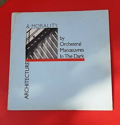 Orchestral Manoeuvres in the Dark Vinyl Lp Architecture & Morality