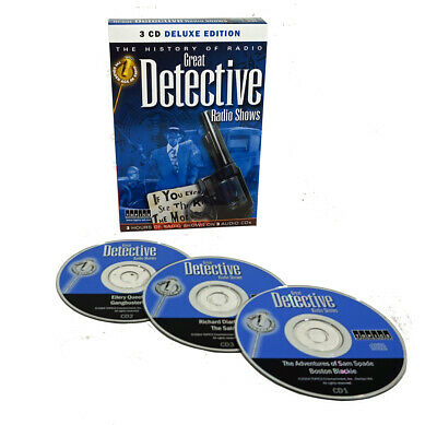 Old Time Detective Radio Show Classics (3 Audio CDs) Sam Spade, Boston Blackie