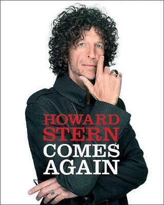 Howard Stern Comes Again by Howard Stern Hardcover Book Free Shipping!