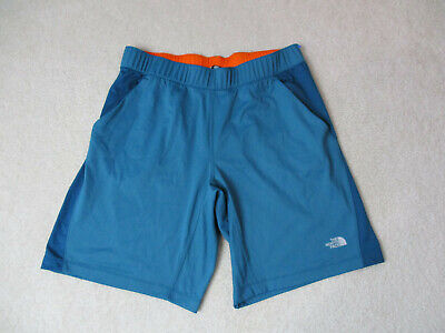 The North Face Shorts Adult Large Blue Gray Outdoors Athletic Gym Mens