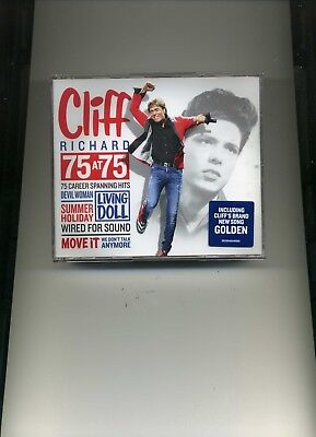 Cliff Richard - 75 At 75 - 3 Cds - New!!
