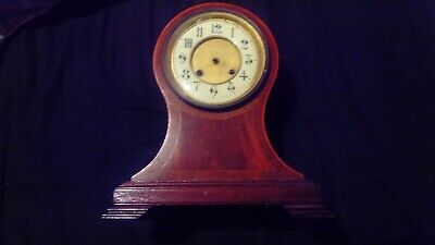 Antique mantel clock case