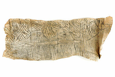Pygmy Mbuti Barkcloth Ituri Rainforest Congo African Art SALE WAS $99.00