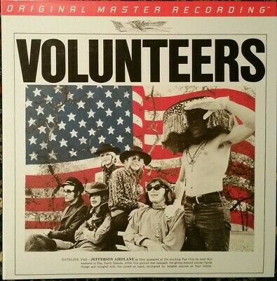 Jefferson Airplanes - Volunteers 2LP Vinyl LP MFSL2-457