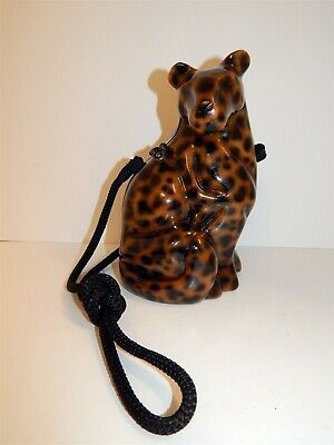Timmy Woods Handmade Cheetah Leopard Collector's Item Bag