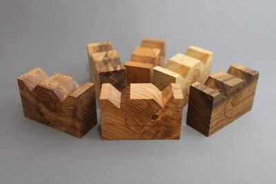 Cardas Small Myrtlewood W Blocks (Set of 6) Double Cut