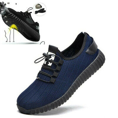MEN WOMENS ULTRA STEEL LIGHTWEIGHT TOE CAP WORK SAFETY SHOES TRAINERS BOOTS Hot