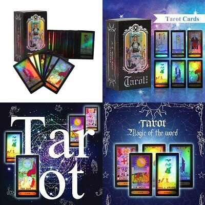 Gloglow Tarot Cards For Beginner Deck Vintage 78 Cards Rider Waite Future Tellin