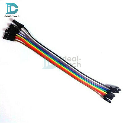10PCS Dupont Wire Cables 2.54mm 20cm 1P-1P Female to female for Arduino
