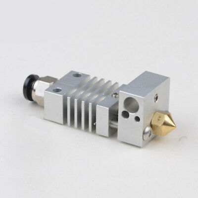 Titanlegierung Thermal Heatbreak + 1.75mm / 0.4mm CR-10 3D Drucker Hotend Kit DE