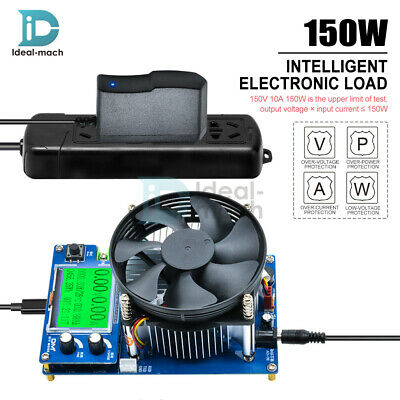 Intelligent Electronic Load 150W 10A 150V Discharge Battery Capacity Tester