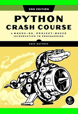 Python Crash Course: A Hands-On, Project-Based Introduction to Programming PDF