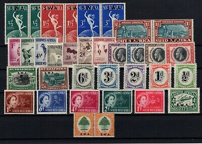 Bp106146/ South West Africa / Lot 1927 - 1954 Neuf * / Mh 108 E