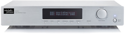 Mitchell & Johnson DR201V Stereo FM/DAB tuner with Bluetooth - Silver
