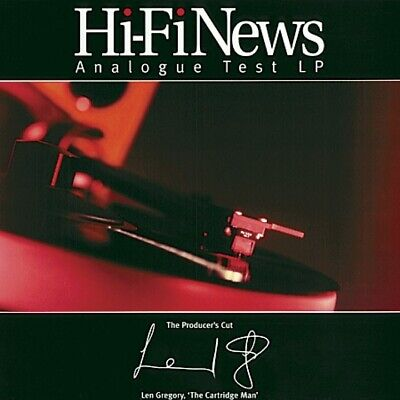 Hi-Fi News Test Record- Latest Edition