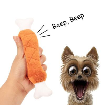 For Dog Toy Play Funny Pet Puppy Chew Squeaker Squeaky Plush Bones Sound Toys