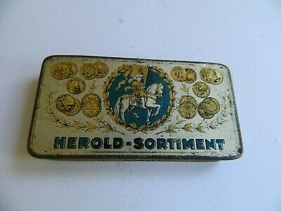 Herold -Sortiment Three Needle Type  Gramophone Needle Tin