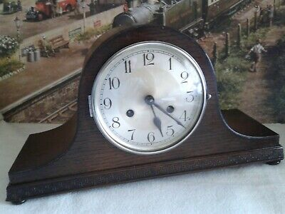 Napoleon Hat style striking  clock in renovated working condition