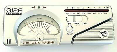 Q12E Chromatic Tuner with 6 FREE plectrums - EB 409