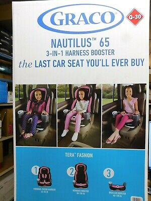 Graco Nautilus 65 3-in-1 Harness Booster Car Seat - Tera