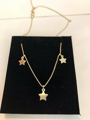 4ce95e8ebcd1d7 14K SOLID GOLD Disc Charm Necklace to Choker Fully Adjustable Chain ...