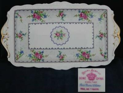 Royal Albert Petit Point Sandwich Tray
