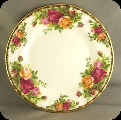 Lot of 8 Royal Albert Old Country Roses Bread and Butter Plates