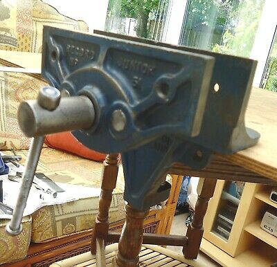 * RECORD  * No 51  Carpenters Clamp On Bench Vice ~ Made in England
