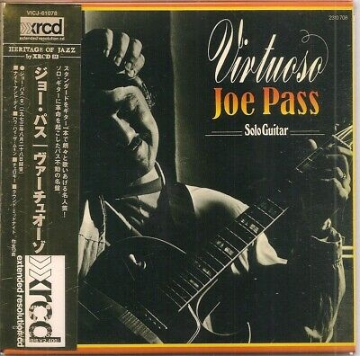 Joe Pass Virtuoso Mini Lp Japan Xrcd