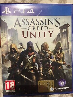 Assassin's Creed Unity Ps4 - Playstation 4 - Italiano  Usato