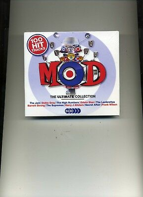 Mod - The Ultimate Collection - Supremes Moody Blues Yardbirds - 5 Cds - New!!
