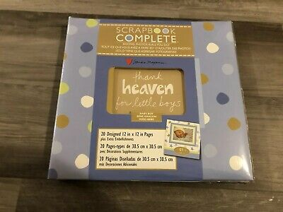 Tapestry Scrapbook Complete Thank Heaven For Little Boys New Never Used