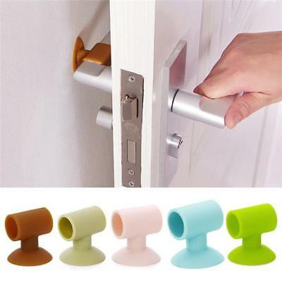Door Handle Crash Pad Bumper Buffer Guard Stopper Multicolor Wall Protector AL
