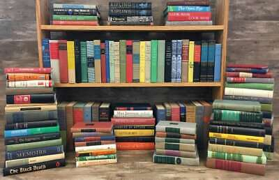 Authentic Decorative Books, Curated Collection - Colorful Vintage Titles (Linear