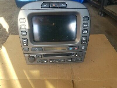 2006 Jaguar X Type Touch Screen Cd Player 462200-5354