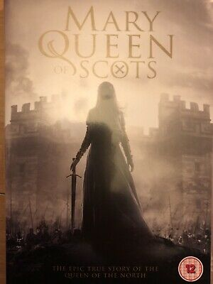 Mary Queen Of Scots DVD  (2019) Region 2 UK Like New!