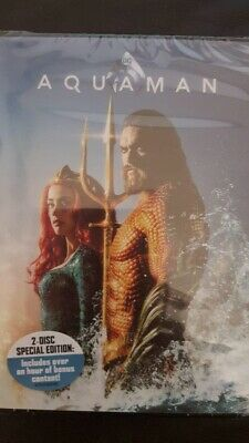 Aquaman DVD. New and sealed. Free delivery.