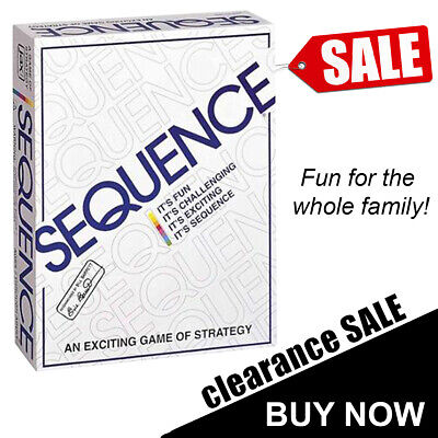 Sequence Board Game Fun Family Party Board Game