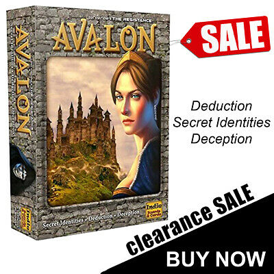 The Resistance Avalon Board Game