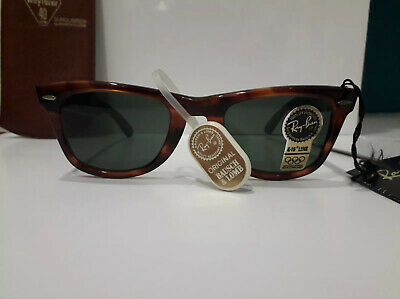 4fc04a4df New Ray Ban Wayfarer 40 years anniversary Bausch and Lomb B&L limited  edition