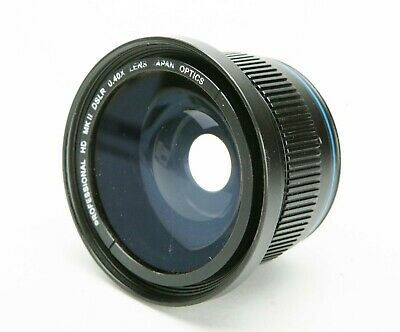 No Name 0.4X AF PRO HD Wide Angle & Macro Video Lens. 46mm Thread. Japan. Clean
