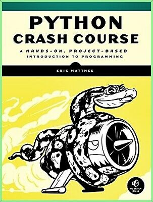 Python Crash Course: A Hands-On,Project-Based Introduction to Programming{P.D.F}