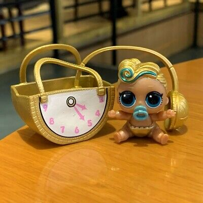 LOL Surprise Lil Sisters dolls eye spy Lil LUXE 24K Color Change doll With Bag