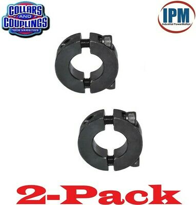 Climax GSCC-075-050 3//4^ x 1//2^ ID SPLIT Clamp Coupling STL BO, Pack of 3