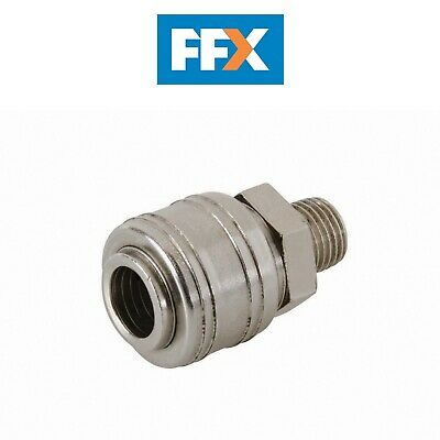 Silverline 237552 Euro Durite Air Filetage Mâle Connecteur Rapide 0.6cm BSP