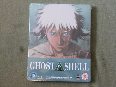 Free*Postage New Ghost In The Shell Blu-Ray Steelbook Region B Shirow Masamune