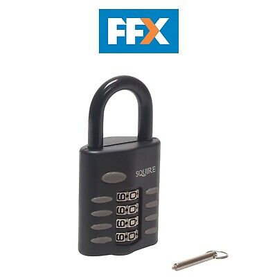 Henry Squire CP50 Standard Mystic Combination Padlock 50mm