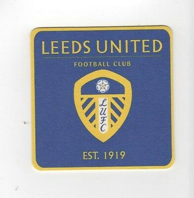 LEEDS UNITED F.C. Pack of Official Beer Mats / Coasters FREE POSTAGE UK