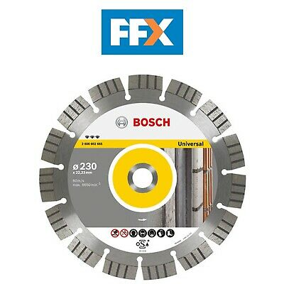 Bosch 2608602661 Best Universal Metal y Hoja de Diamante 115mm X 22mm